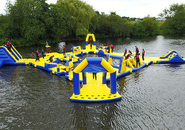 Commercial Ultimate Inflatable Water Park For Children , Inflatable Water Sports