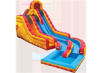 Customized Giant Inflatable Water Slides , Blow Up Water Slide For Adults